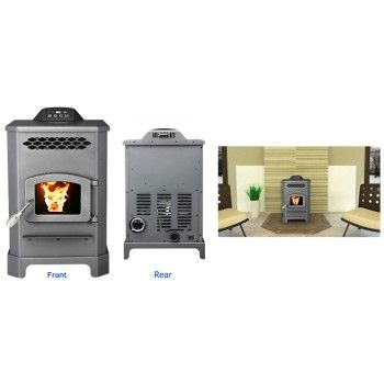 Mini Pellet Stove (Black)