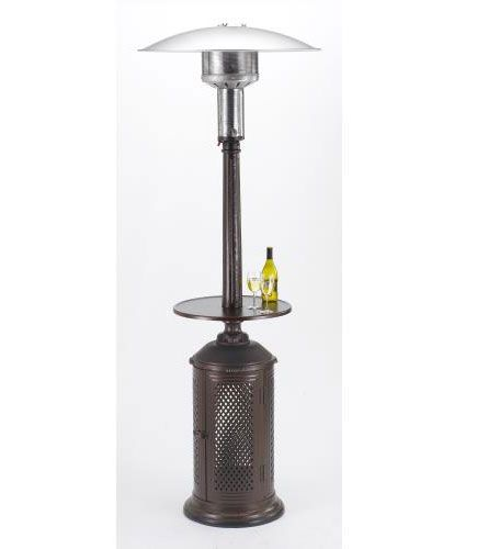 Patio Comfort PC02CAB Vintage Series 92 Inch Cast Aluminum Patio Heater Liquid Propane
