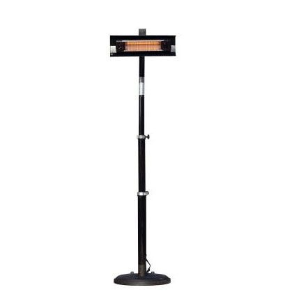 Fire Sense 2678 93 Inch Telescoping Offset Pole Mounted Infrared Patio Heater