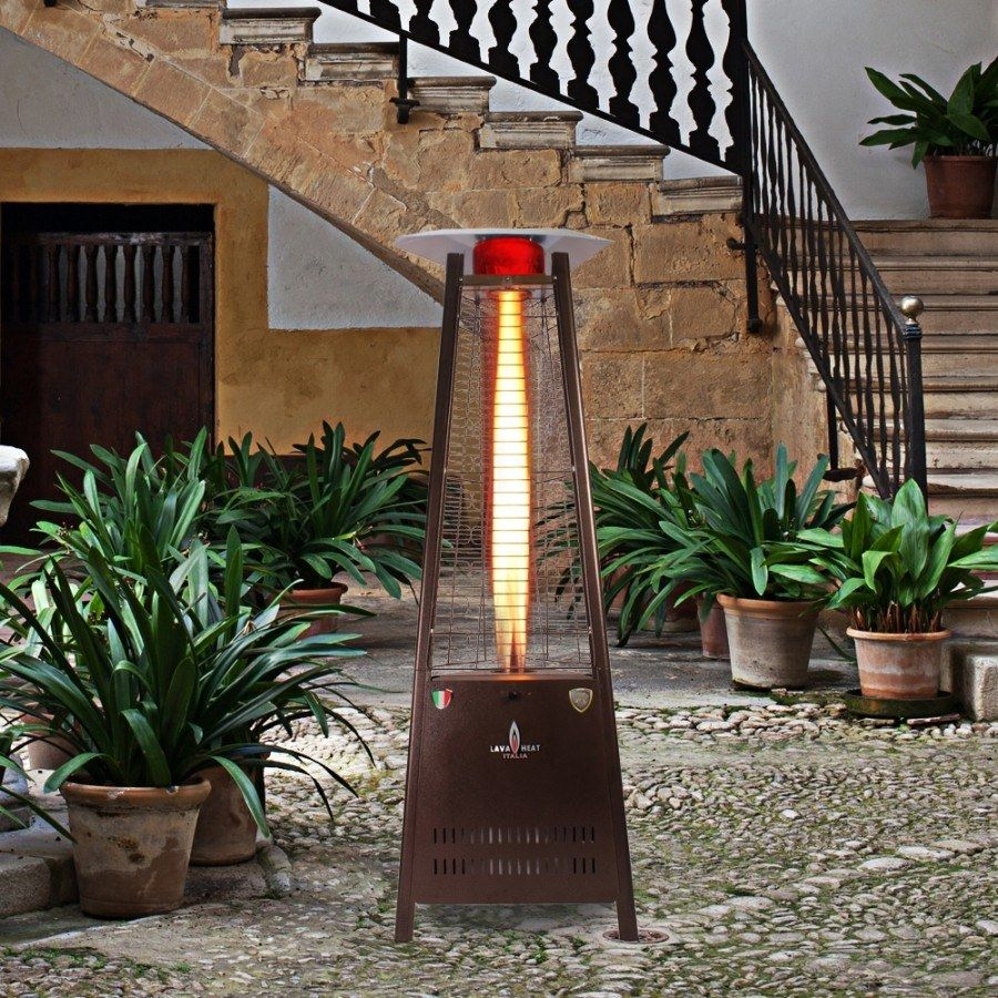 Lava Heat Italia Capri Triangular Patio Heater
