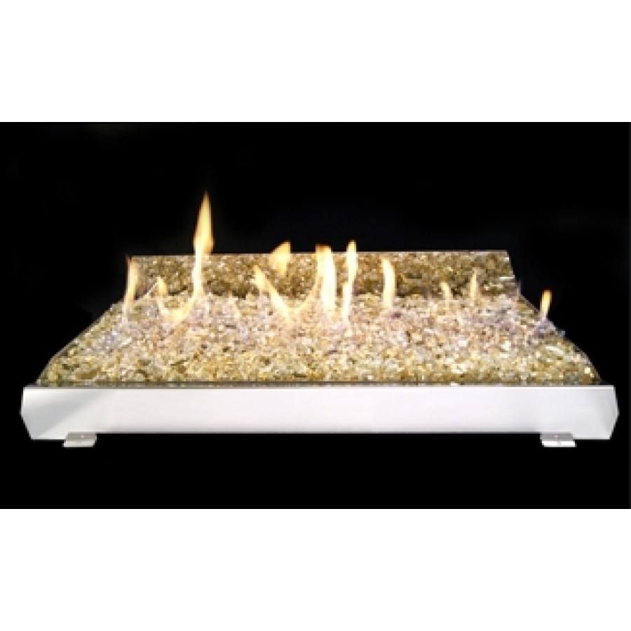 Stainless Steel Vented and Vent-Free Burner Systems for Fireplaces
