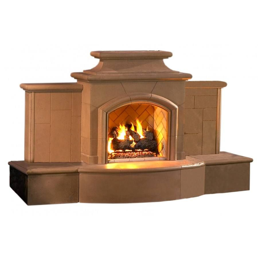 Grand Mariposa Fireplace