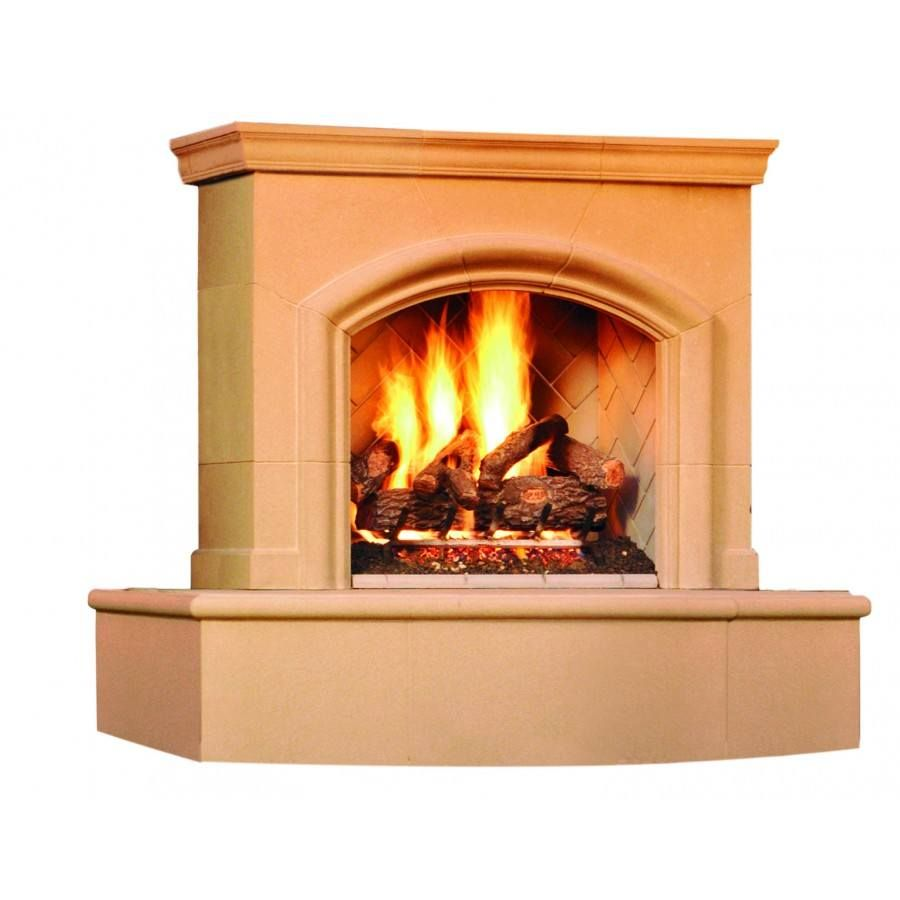 Phoenix Fireplace with Back Venting