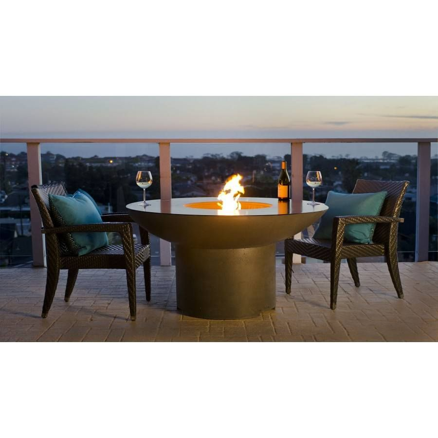Lotus Dining Fire Pit Table