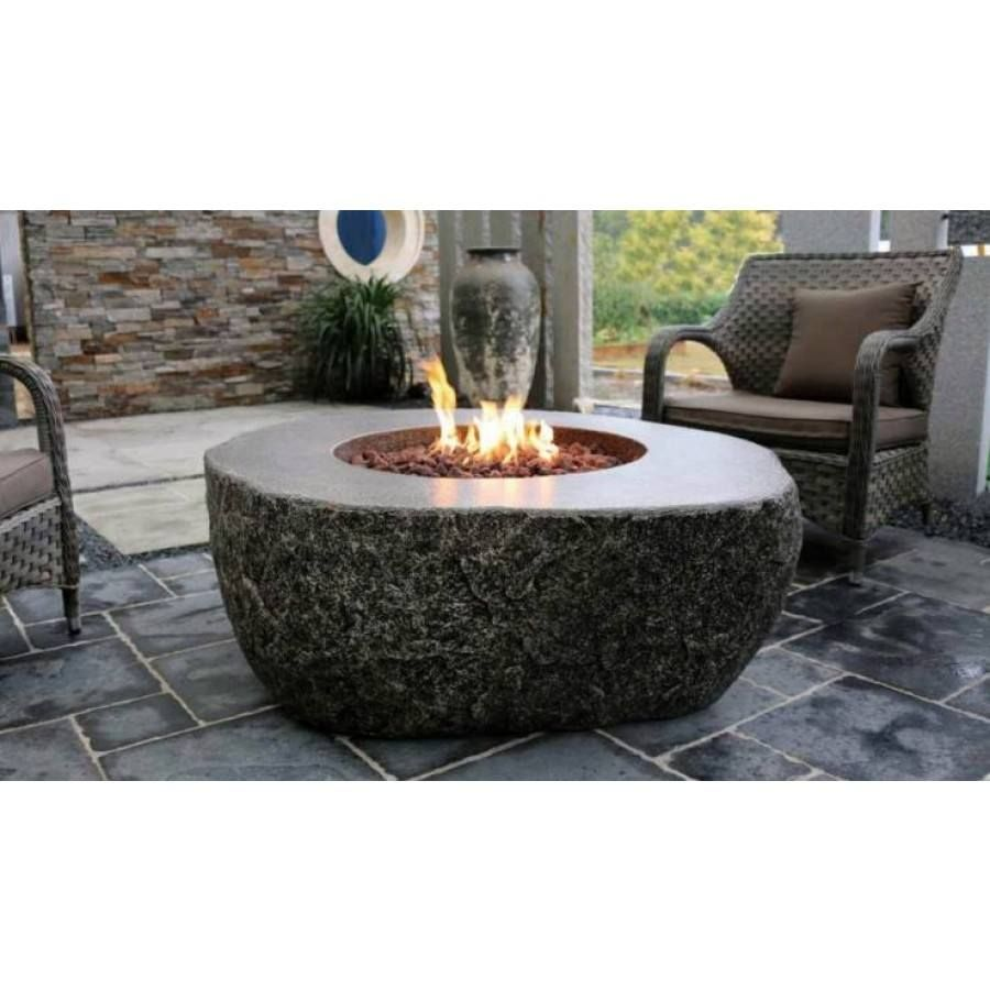 Fiery Rock Fire Table