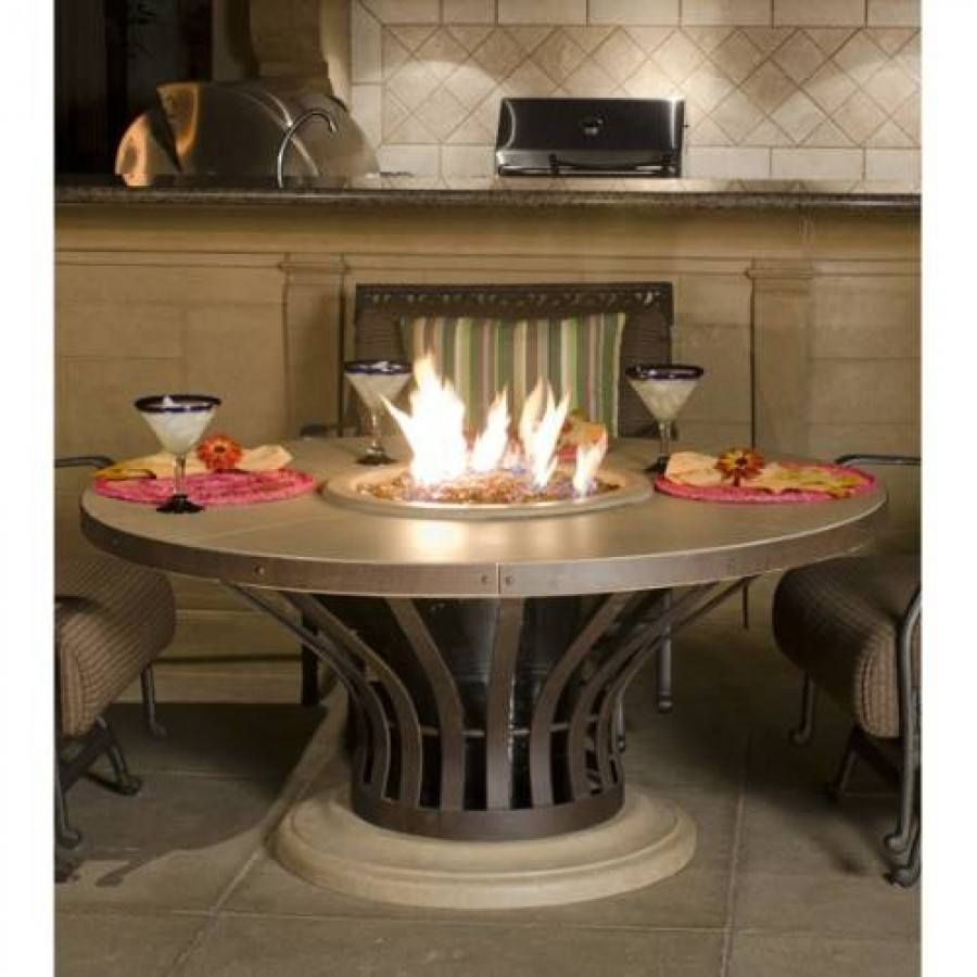 Fiesta Dining Fire Pit Table