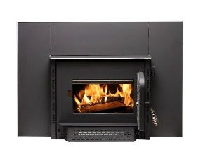 US Stove AW1820E* Wood Stove Wood Burning Insert, Black, 1800 sq. ft.
