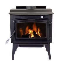 Pleasant Hearth PH1800WS Wood Stove, 63000 BTU