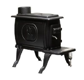 US Stove US1269E 54000 BTU Wood Stove, Black